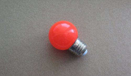 Żarówka LED G45 SMD 1W Czerwona do girlandy