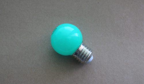 Żarówka LED G45 SMD 1W Zielona