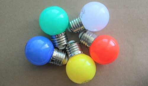 Żarówki LED SMD 1W kolory-min