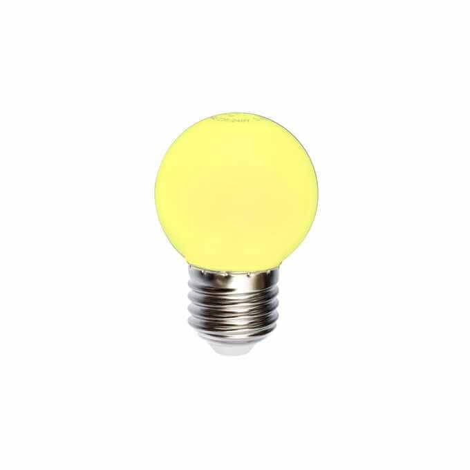 żarówka do girland żółta kulka 1 w z 20 lm