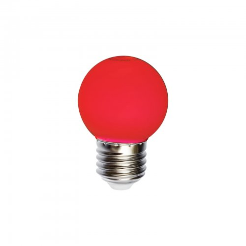 żarówka do girland czerwona kulka 1 w z 20 lm