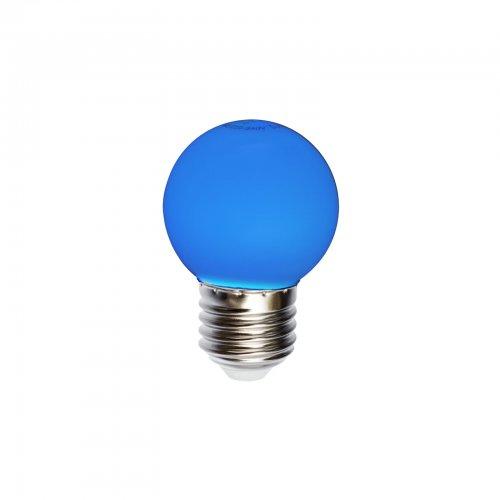 żarówka do girland niebieska kulka 1 w z 20 lm