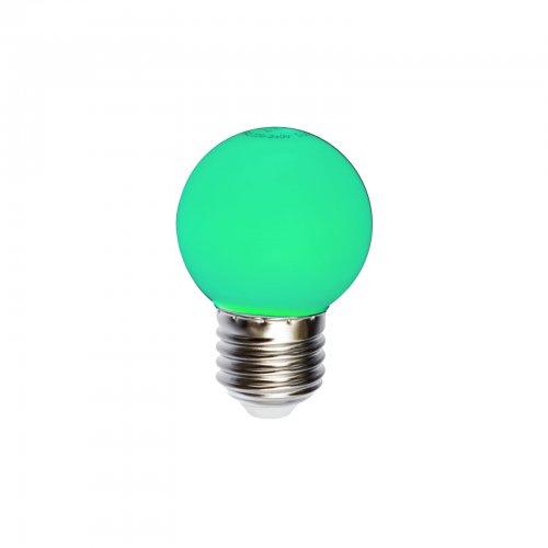 żarówka do girland zielona kulka 1 w z 20 lm kolor