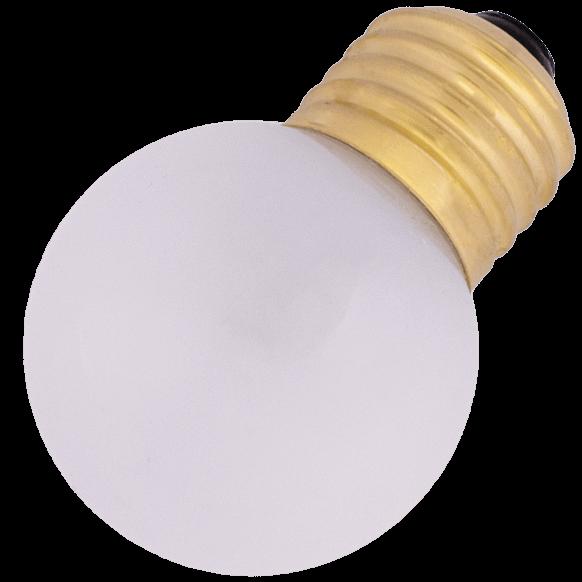 Mleczna Żarówka LED , plastikowa, mleczna ciepła barwa 2500K, 0,7W = 50lm