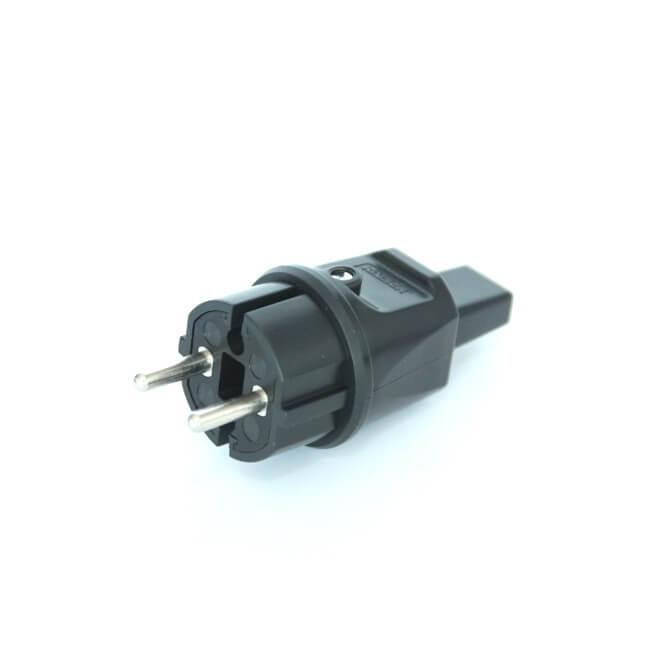 Wtyczka 230V przewód płaski girlanda żarówkowa