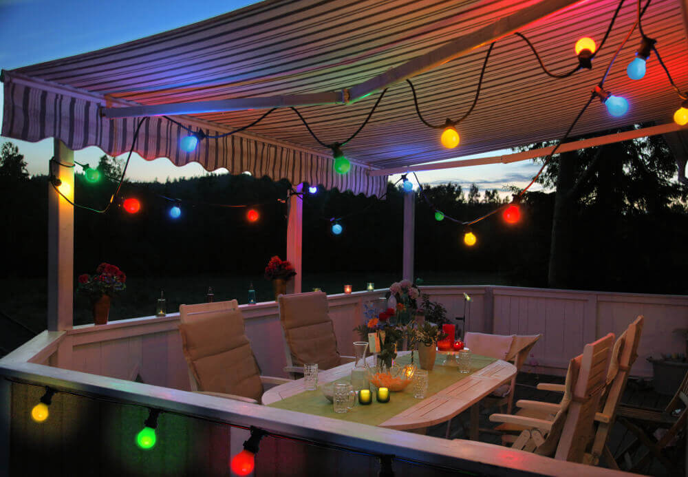 girlandyzarowkowe.pl kolorowe zarowki patio ogrodowe świetlne girlandy