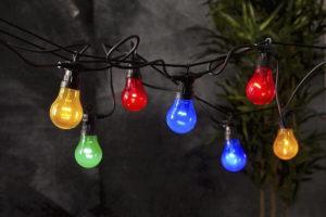 Girlanda świetlna party kolorowe żarówki