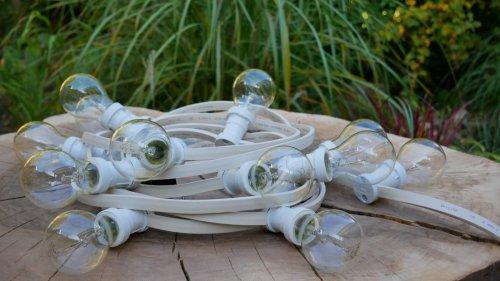 girlanda świetlna z żarówkami tradycyjnymi edisona