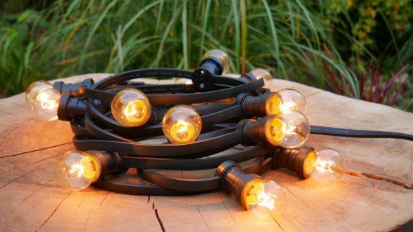 girlanda świetlna z żarówkami tradycyjnymi