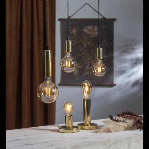 Żarówka do girland LED filament Edison ST54 0,75W szklana ciepła barwa 2000K 80 lm